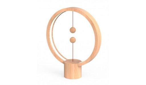 Round L wood 2 512x298 - لمبة ليد هينج بالانس يو اس بي المستديرة -  خشبي فاتح