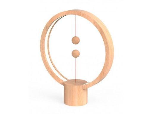 Round L wood 2 512x384 - لمبة ليد هينج بالانس يو اس بي المستديرة -  خشبي فاتح